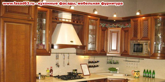 мебельные фасады из массива ценных пород дерева, кухонные столы стулья, фурнитура, вытяжки